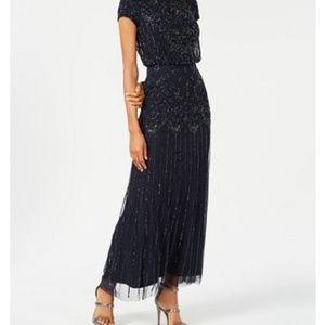 Adrianna Papell sequin long Dress